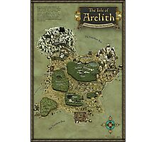 Arelith Map Photographic Print