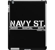 Navy Street White iPad Case/Skin