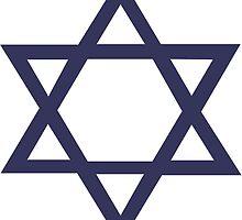 Star of David by retromoomin