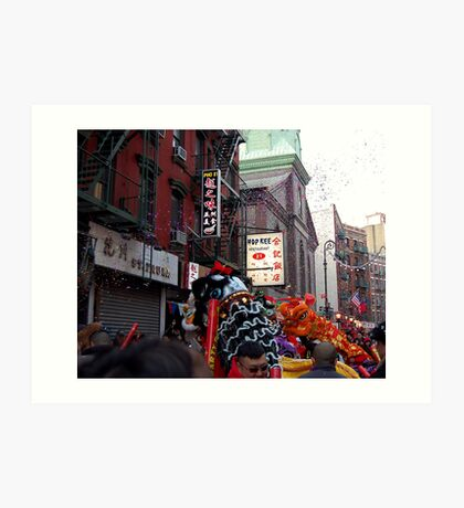 Chinese New Year, NYC No.1  Art Print