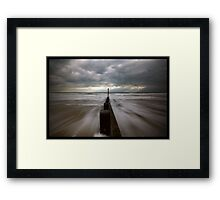 Wet Shoes Framed Print