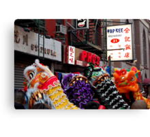 Chinese New Year, NYC No.2 Canvas Print