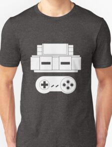 Let's Play SNES (White T-Shirt