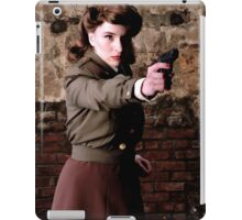 Tanya Wheelock as Peggy Carter (Photography by Misty Autumn Imagery) iPad Case/Skin