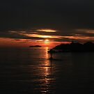 Adriatic Sunset by erwina