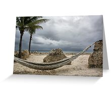 A Place To Relax Greeting Card