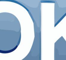 Squared OK Apple / WhatsApp Emoji Sticker
