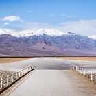 Salt Walkway at Badwater Basin - Death Valley by Robert Kelch, M.D.