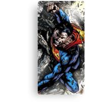 Superheroes Comic Canvas Print