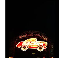 Radiator Springs Racers by diztee