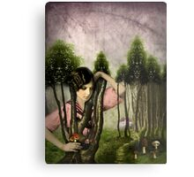 In the park Metal Print