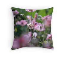 Beautiful pink blossoms  Throw Pillow