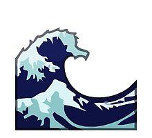 Water Wave Apple / WhatsApp Emoji by emoji