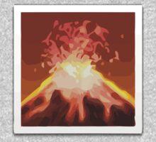 Volcano Apple / WhatsApp Emoji Kids Clothes
