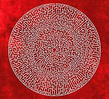 RED LABYRINTH by THEUSUALDESIGN