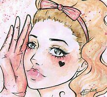 """Hev's Art ~ Marina and the Diamonds """"Electra Heart"""" by HeatherLG"""