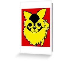 Bumblebee Dog Greeting Card
