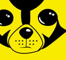 Bumblebee Dog Sticker