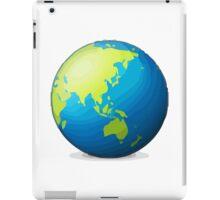 Earth Globe Asia-Australia Apple / WhatsApp Emoji iPad Case/Skin