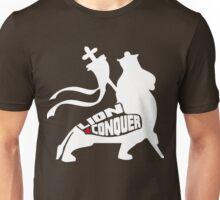 LION CONQUER WHITE Unisex T-Shirt