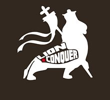 LION CONQUER WHITE Unisex T-Shirt