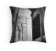 the fall of the house of Escher Throw Pillow