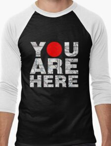 YOU ARE HERE Men's Baseball ¾ T-Shirt
