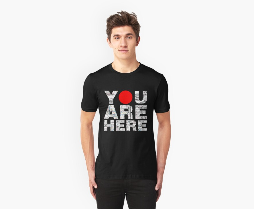 YOU ARE HERE by Tin-boy