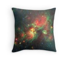 Galaxy Nebula Clouds, HD Photograph Throw Pillow
