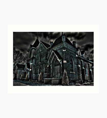 Flint Hill Baptist Church Art Print