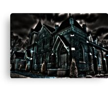 Flint Hill Baptist Church Canvas Print