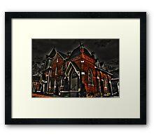 Flint Hill Baptist Church Framed Print