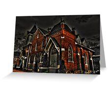 Flint Hill Baptist Church Greeting Card