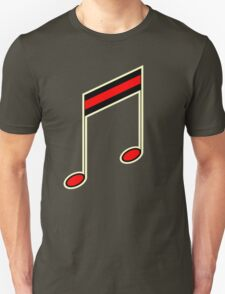 Vintage Music Note T-Shirt