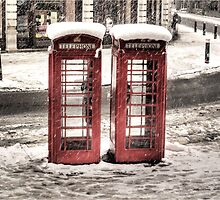 Phonebox - Snow II by NrthLondonBoy