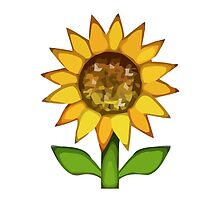 Sunflower Apple / WhatsApp Emoji by emoji
