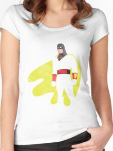Project Silhouette 2.0: Space Ghost Women's Fitted Scoop T-Shirt