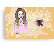 Me & My Baby (Zoe & Nala) Canvas Print