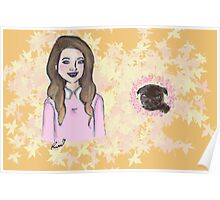 Me & My Baby (Zoe & Nala) Poster