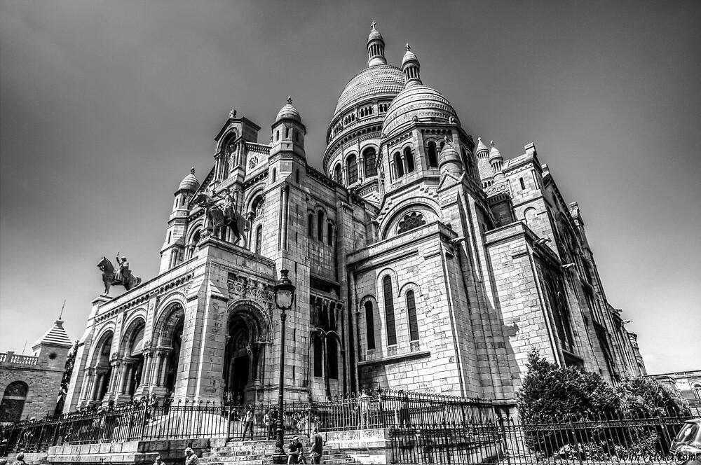 Sacre Coeur, Paris 6 by John Velocci