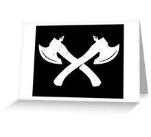 axe Greeting Card