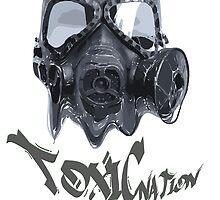 Spooky toxic gasmask nation by SneuvelNation