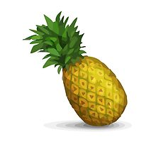 Pineapple Apple / WhatsApp Emoji by emoji