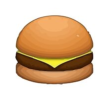 Hamburger Apple / WhatsApp Emoji by emoji