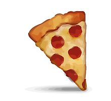 Slice Of Pizza Apple / WhatsApp Emoji by emoji