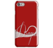 Vintage & Dragons reprise iPhone Case/Skin