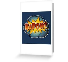 KAPOW! Greeting Card
