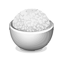 Cooked Rice Apple / WhatsApp Emoji by emoji