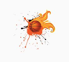 Fire Basketball Ball 2 T-Shirt