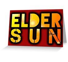 Elder Sun Greeting Card